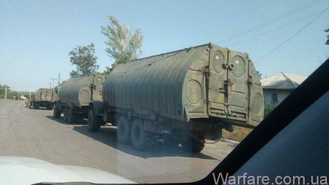 ОБСЕ: боевики «лнр» перебрасывают переправочно-десантные средства севернее Луганска.