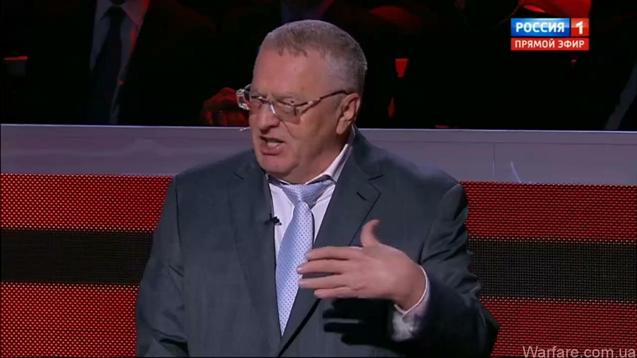 Жириновский опять анонсировал полномасштабную войну в Украине