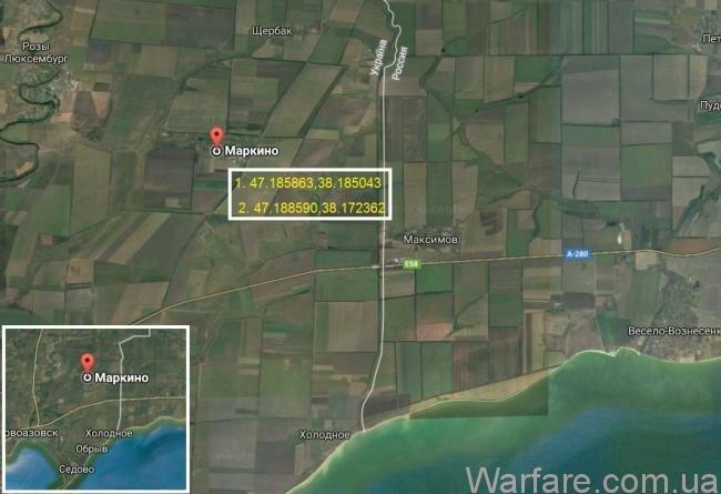 Россияне прячут свою военную технику в нашем приграничном селе. ФОТО. КАРТА